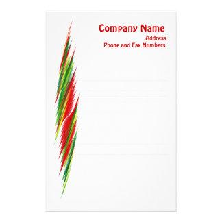 Futura Lined Notepaper Custom Stationery
