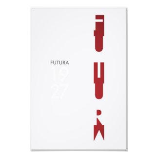 Futura Poster Photo Art