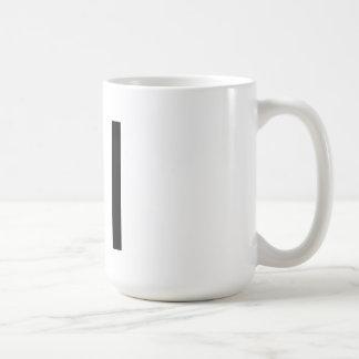 "Futura Typography ""I"" Mug"