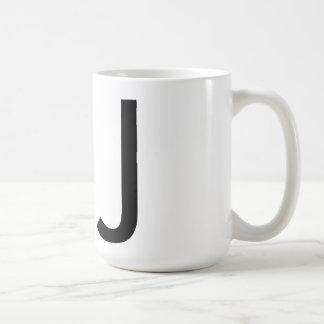 "Futura Typography ""J"" Mug"