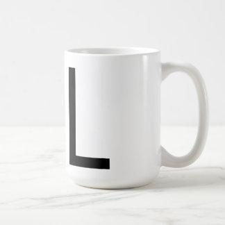 "Futura Typography ""L"" Mug"