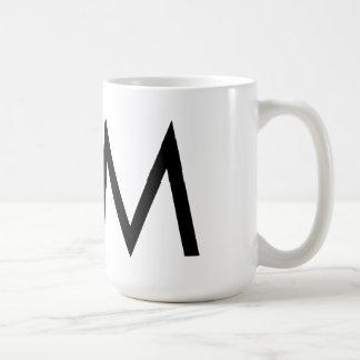 "Futura Typography ""M"" Mug"