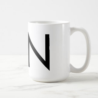 "Futura Typography ""N"" Mug"