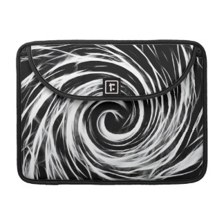 "Future Abstract -Black and White - Macbook Pro 13"" Sleeve For MacBook Pro"
