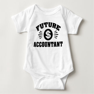 Future Accountant Baby Bodysuit