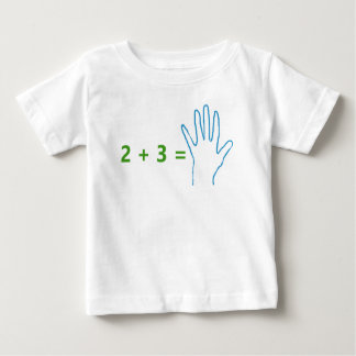 Future Accountant with Math Equation Baby T-Shirt
