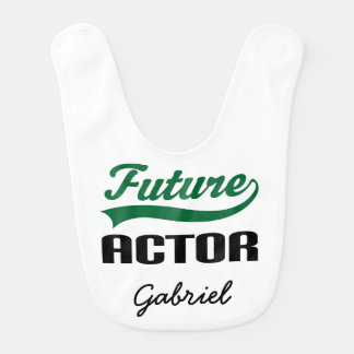 Future Actor Personalized Baby Bib