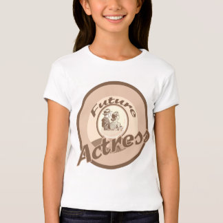 Future Actress Kids Occupation T-shirt