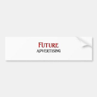 Future Advertising Bumper Stickers
