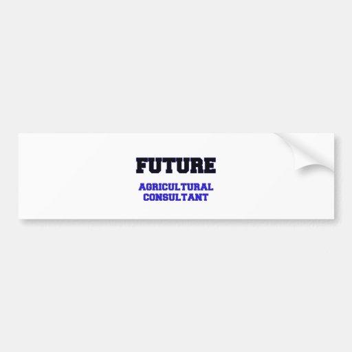 Future Agricultural Consultant Bumper Stickers