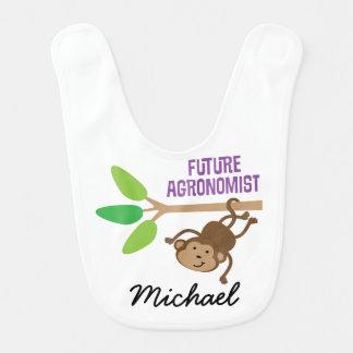Future Agronomist Personalized Baby Bib