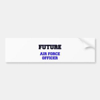 Future Air Force Officer Bumper Sticker