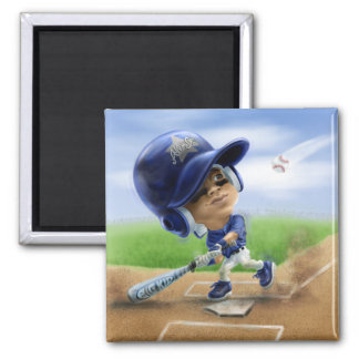 Future All-Star Blue Square Magnet