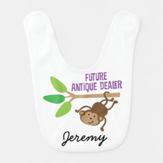Future Antique Dealer Personalized Baby Bib