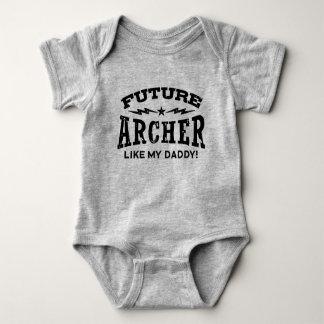Future Archer Like My Daddy Baby Bodysuit