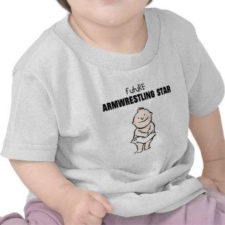 Future Armwrestling Star (Baby Boy) Shirt
