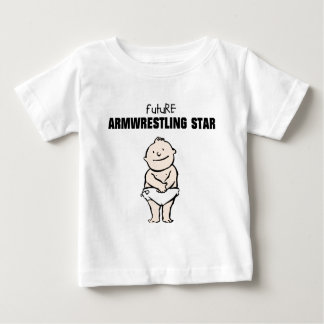 Future Armwrestling Star (Baby Boy) Shirt