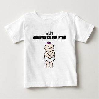 Future Armwrestling Star (Girl) Tee Shirts
