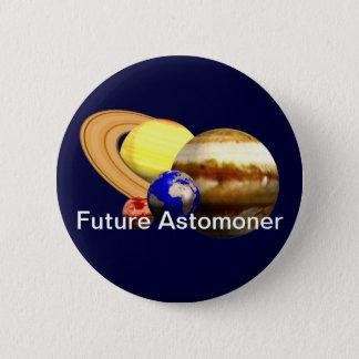 Future Astronomer 6 Cm Round Badge