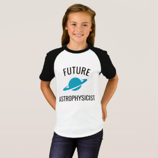 Future Astrophysicist Kids Tshirt