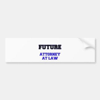 Future Attorney At Law Bumper Stickers