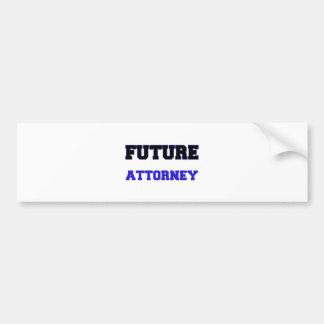 Future Attorney Bumper Sticker