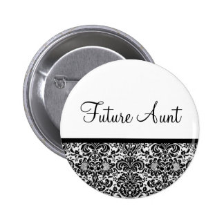Future Aunt 6 Cm Round Badge