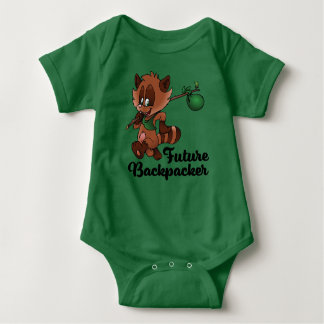 Future Backpacker Baby Bodysuit