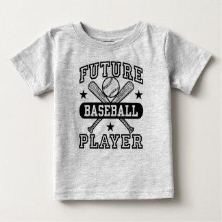 Future Baseball Player Baby T-Shirt