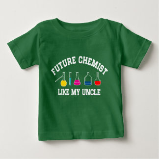 Future Baseball Player Like My Uncle Baby T-Shirt