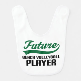 Future Beach Volleyball Player Baby Bib