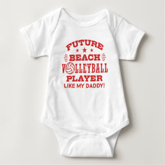 Future Beach Volleyball Player Like My Daddy Baby Bodysuit