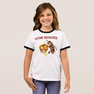 Future Beekeeper Ringer T-Shirt