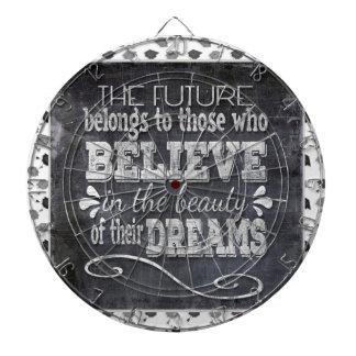 Future Belong, Believe in the Beauty Dreams, Black Dartboard
