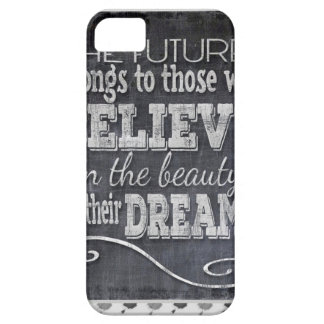 Future Belong, Believe in the Beauty Dreams, Black iPhone 5 Covers