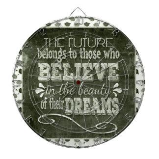 Future Belong, Believe in the Beauty Dreams, Green Dartboard