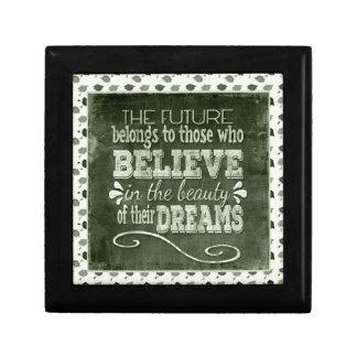 Future Belong, Believe in the Beauty Dreams, Green Gift Box