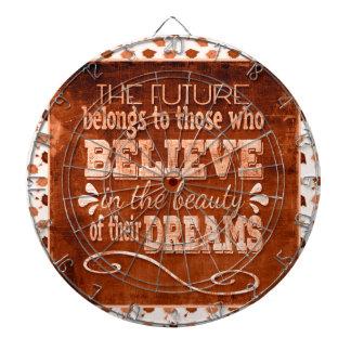 Future Belong, Believe in the Beauty Dreams, Orang Dartboard