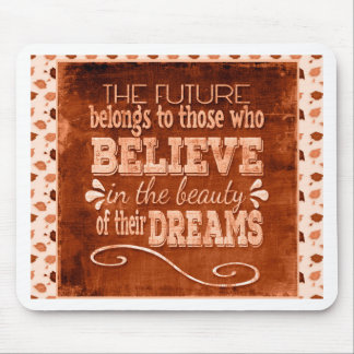 Future Belong, Believe in the Beauty Dreams, Orang Mouse Pad