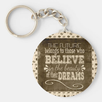 Future Belong, Believe in the Beauty Dreams, Sepia Key Ring