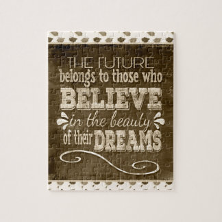 Future Belong, Believe in the Beauty Dreams, Sepia Puzzles