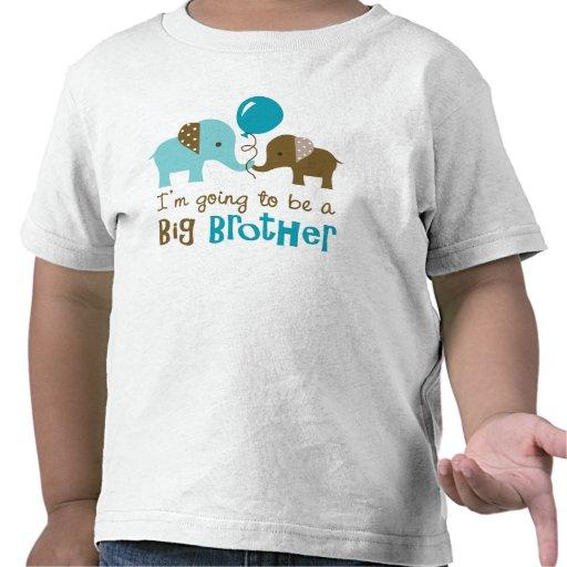 Future big brother - Mod Elephant T Shirt