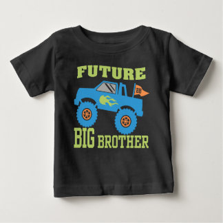 Future Big Brother Monster Truck Baby T-Shirt