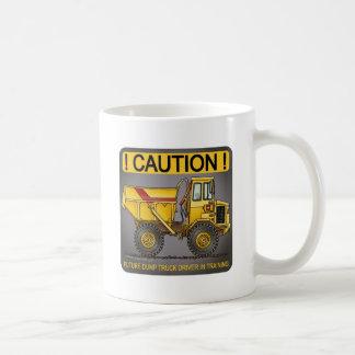Future Big Dump Truck Driver Coffee Mug