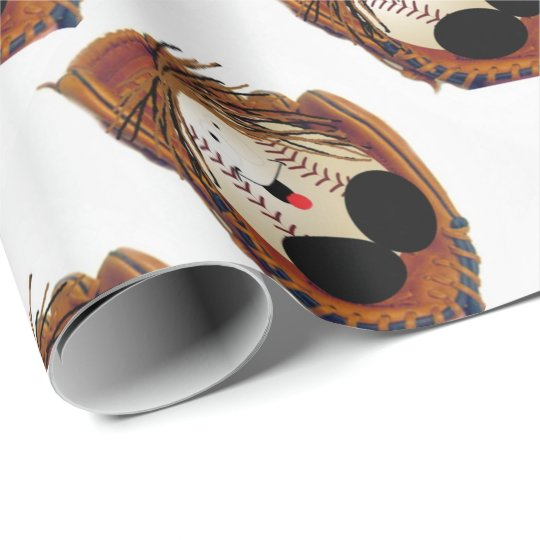 .Future big-leaguer Wrapping Paper