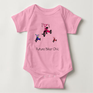 Future Biker Chic Baby Bodysuit