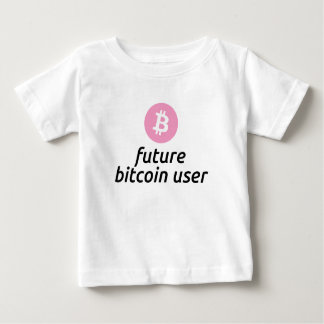 Future Bitcoin User Shirt for a Girl