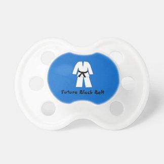 Future Black Belt Blue Boy Baby Pacifier