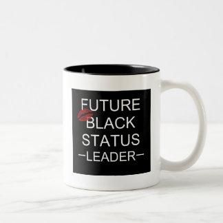 Future Black Status Leader Mug