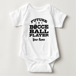 Future Bocce Ball Player Baby Bodysuit